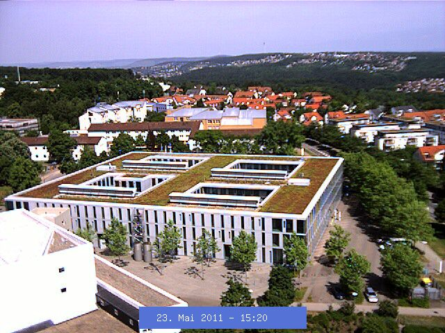 The Skyline around Stuttgart University for Computer Science and Information Technology